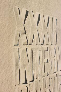 XXXII Biennale 1964  Design: Massimo Vignelli Typography Letters, Lettering, Creative Inspiration, Design Inspiration, Massimo Vignelli, Subway Map, Studio Organization, Logo Design, Graphic Design