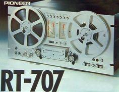 Vintage Reel to Reel Recorders - Audio Classic Audio Vintage, Pioneer Audio, Techno, Black Art Pictures, Stereo Amplifier, Tape Recorder, Hifi Audio, Vintage Market, Audio Equipment