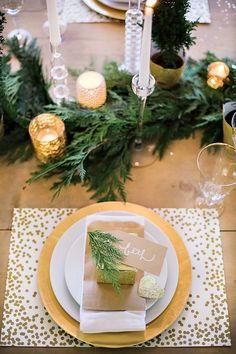Voici 20 tables de Noël à faire rêver! De la plus simple, à la plus folle des…