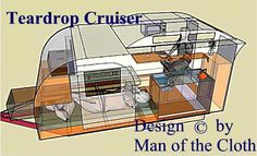 Cruiser, Teardrop Trailer, Clerestory