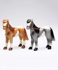 This Horse Salt & Pepper Shakers is perfect! #zulilyfinds