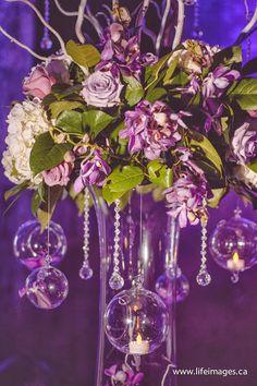 gorgeous - romantic centerpieces