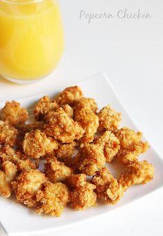 popcorn chicken recipe, how to make kfc style popcorn chicken