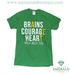 Emerald Boutique Custom Greek Week Tees! Start a custom apparel order for your chapter today!