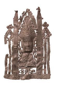 Pilgrim badge of St. Thomas Becket, c.14th century