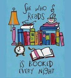 I love reading <3