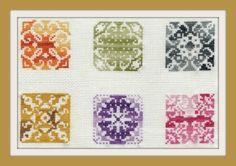 PDF Biscornu patterns Petites grilles - série N° 14 - Le blog de Louison