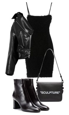 """""""Untitled #23262"""" by florencia95 ❤ liked on Polyvore featuring Dsquared2, Balenciaga, Off-White and Yves Saint Laurent"""