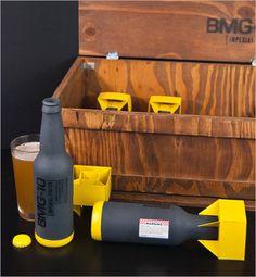 Best beer design, ever. Cool Packaging, Bottle Packaging, Brand Packaging, Packaging Design, Beer Brewing, Home Brewing, Design Da Garrafa, Brewing Equipment, Beer Label