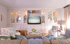 Media Room - Modern Lifestyle - Family - traditional - family room - dallas - Elle Cole & Associates