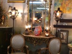 Iron Lanterns   $895   Grace Designs Booth #333  City View Antique Mall  6830 Walling Lane Dallas, TX 75231