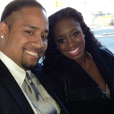 On January 16, 2014, Jonathan Fatu married his girlfriend Trinity McCray in Hawaii. Jon's twin brother Josh served as his best man. The wedding will be featured on their reality show Total Divas.