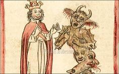Silvestre II y el Diablo en una ilustración de 1460 ©wikimedia
