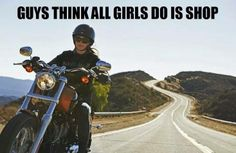 .All this girl wants to do is RIDE!