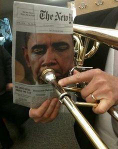 I mean no offense when I say this but no he is not worthy of playing that instrument!