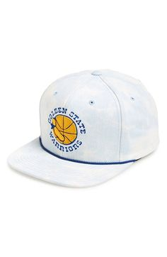 089ab3954f5 Mitchell   Ness  Golden State Warriors  Acid Wash Snapback Hat