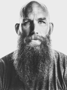 Classic Pics – The Beard Apostle Bald Men With Beards, Bald With Beard, Grey Beards, Beard Love, Long Beards, Long Beard Styles, Hair And Beard Styles, Moustache, Barba Grande