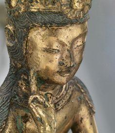 Pensive Bodhisattva, mid-7th C. Three Kingdoms period . Korea.