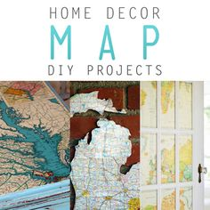 If you love to travel, you'll love these home decor map DIY projects! Stay creative with us at Walgreens.com.