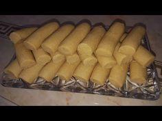 غريبة الحمص التونسية مع سرخطير مستحيل يقولوه اصحاب الصنعة - YouTube Tunisian Food, Tunisian Recipe, Biscuits, Eid, Ramadan, Sausage, Dairy, Treats, Cheese