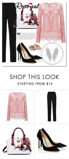 """""""ROSEGAL 25"""" by miralemaa ❤ liked on Polyvore featuring rosegal"""