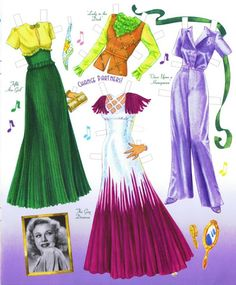 Ginger Rogers Paper Doll - Yakira Chandrani - Picasa Web Albums