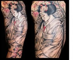 Geisha Tattoo Arm - Quoteko.