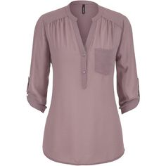 maurices The Perfect Blouse With Textured Dot Stitching ($29) ❤ liked on Polyvore featuring tops, blouses, plum raisin, v neck blouse, polka dot chiffon blouse, plum blouse, polka dot top and polka dot blouse