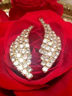 Vintage Diamond & Gold Juliana Style Art by LovingCupVintageKM, $17.00
