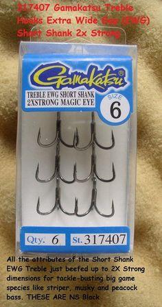 GAMAKATSU 317407 SIZE 6 MAGIC EYE TREBLE HOOK NS BLACK EWG SHORT 2X STRONG http://fishingbaitslures.com/products/gamakatsu-317407-size-6-magic-eye-treble-hook-ns-black-ewg-short-2x-strong