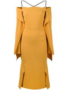 Compre Roland Mouret Vestido 'Andover' com drapeado.