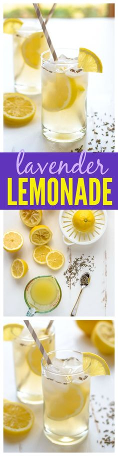 Homemade Lavender Lemonade recipe — perfect Memorial Day mocktail (or cocktail!). Fresh and simple. Recipe from www.wellplated.com @wellplated