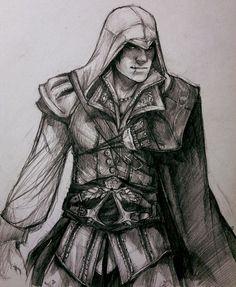 Oh, my. Oh, Ezio.