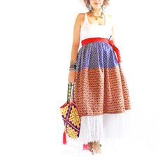 1d51cad9548 Handmade Mexican embroidered dresses and vintage treasures from Aida  Coronado Frida Kahlo vintage mexican embroidered top