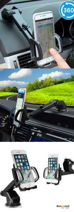 US$7.99 + Free shipping. Shockproof design,providing a stable viewing environment and adjustable size secure from falling.Perfectly to car vent. Chuck designed in 360° rotation can rotate at will and satisfy your needs of watching from any angle. See more.