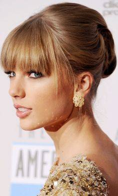 10 Best Updos With Bangs Images Hair Styles Hair Updos Hair Beauty