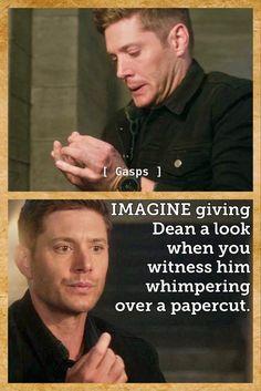 Supernatural Imagines, Winchester Supernatural, Supernatural Tv Show, Super Natural, Jensen Ackles, That Way, Puns, Mental Health, Wattpad