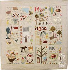 Bloque del mes para hacer la colcha de patchwork de Anni Downs