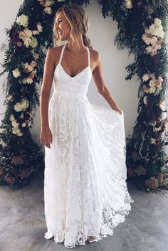 Awesome 48 Beautiful Beach Wedding Dresses To Inspire You. More at http://trendfashioner.com/2018/05/31/48-beautiful-beach-wedding-dresses-to-inspire-you/