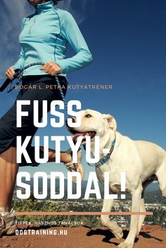 A kutyusunkkal való közös futás egy remek módja annak, hogy fizikailag lefárasszuk őket. Dog Training, Magazines, Baseball Cards, Sports, Movies, Movie Posters, Fictional Characters, Journals, Hs Sports