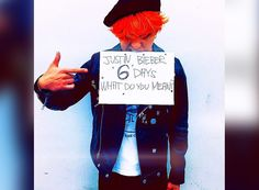 """G-Dragon joins Justin Bieber's social media campaign for upcoming single, """"What Do You Mean?"""""""