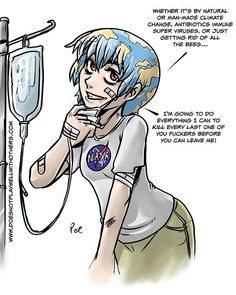 Yandere Earth-chan | Earth-chan | Know Your Meme