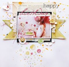 Happy Birthday - Scrapbook.com