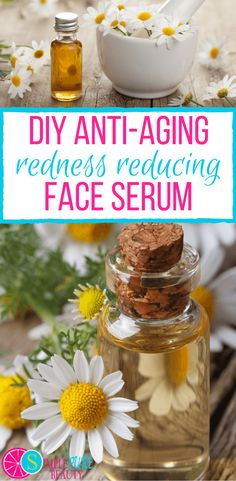 Anti-aging creams at the store are super expensive and filled with ingredients you can't pronounce. Check out this simple, 4-ingredient DIY redness-reducing anti-aging face serum. Whether your skin is mature or suffering from Rosacea, you'll enjoy the benefits of these oils.
