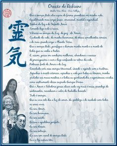 Oração do Reikiano - Mestre Vera Alves