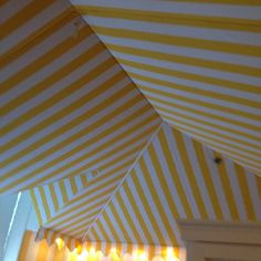 Canopy tented ceiling treatment from the Sea Spa @ Congress Hall Cape May