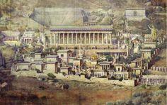 Reconstrucción ideal de Delfos