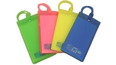 Rubber Luggage Tag Set