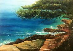 Olajfestő tanfolyamon készült festmény a tenger száz színével Water, Outdoor, Gripe Water, Outdoors, Outdoor Games, Outdoor Living