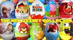 30 œufs Surprise Eggs Disney Collector DORA THE EXPLORER Mickey Mouse Fr...